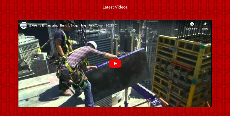 Homepage - Latest Videos